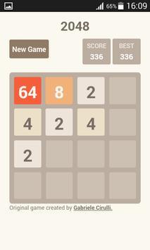 2048 challenge screenshot 2