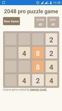 2048 pro puzzle game - Indian version apk screenshot