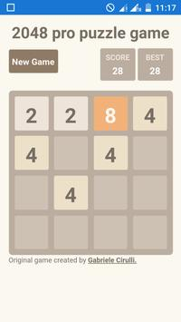 2048 pro puzzle game - Indian version poster