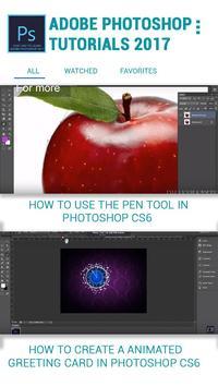 2018 Latest Photoshop Tuts for free screenshot 3