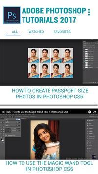 2018 Latest Photoshop Tuts for free screenshot 1