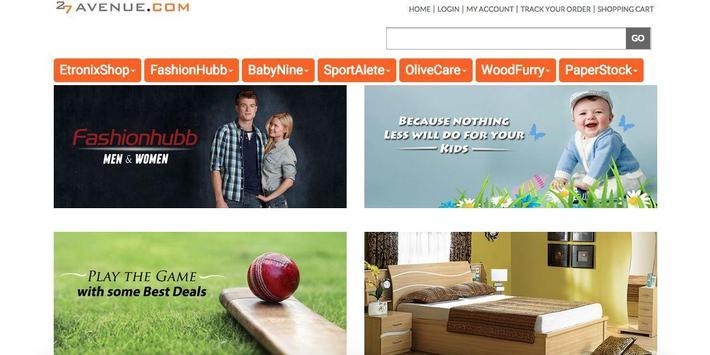 27Avenue Online Shopping App poster