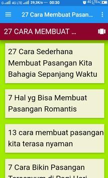 27 Cara Membuat Pasangan Bahagia Sepanjang Waktu screenshot 2