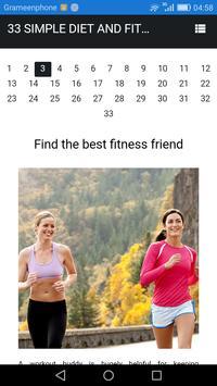 Diet 33 poster