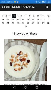 Diet 33 screenshot 1