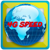 4g speed browser icon