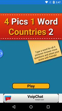 4 Pics 1 Word Countries 2 poster