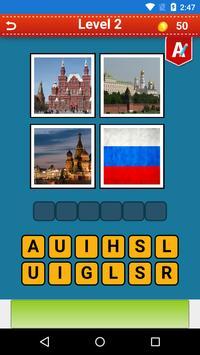 4 Pics 1 Word Countries 2 apk screenshot