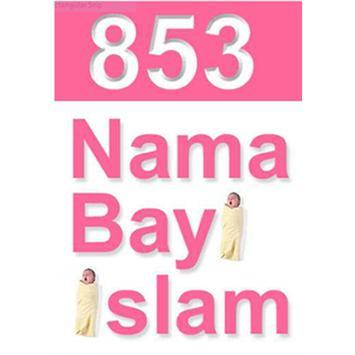 853 NAMA-NAMA BAYI ISLAMI poster