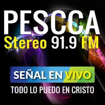 PESCCA STEREO poster
