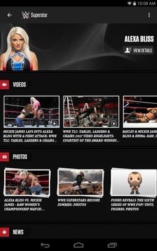 WWE captura de pantalla de la apk