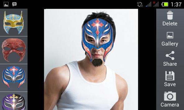 Smackdown Mask Camera screenshot 2