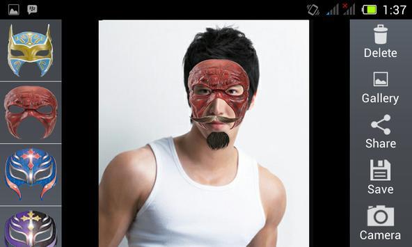 Smackdown Mask Camera apk screenshot