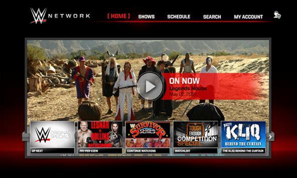 WWE Network apk screenshot
