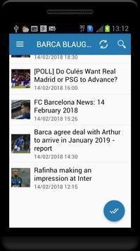 Fc Barcelona News screenshot 1