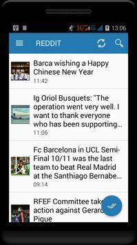 Fc Barcelona News screenshot 2