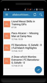 Fc Barcelona News screenshot 7