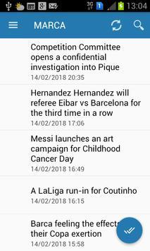 Fc Barcelona News screenshot 4