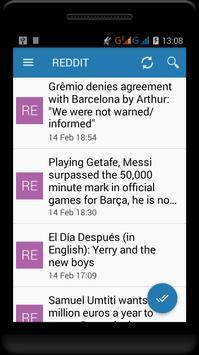 Fc Barcelona News screenshot 5