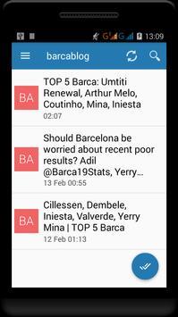 Fc Barcelona News screenshot 6