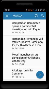 Fc Barcelona News screenshot 8