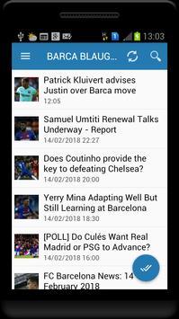 Fc Barcelona News screenshot 9