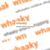 whaaky online shop official icon