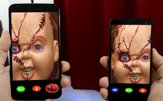 Calling From Chucky Doll poster
