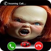 Calling From Vedio Chucky Bad icon