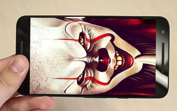 fake call from Old Pennywise And New Pennywise apk screenshot
