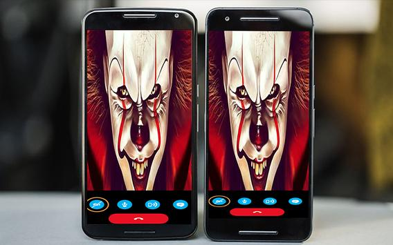 calling with new and old pennywise apk screenshot
