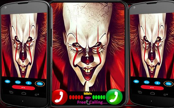 calling the it pennywise poster