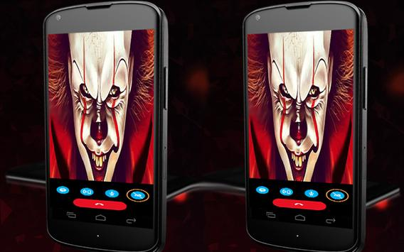 calling the it pennywise apk screenshot
