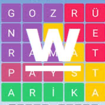 nederland woord puzzel spelen poster