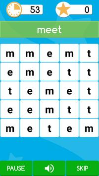 word puzzle . poster