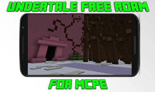 Map Undertale Free Roam for MCPE apk screenshot
