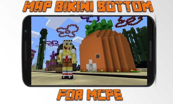 Map Bikini Bottom for MCPE poster