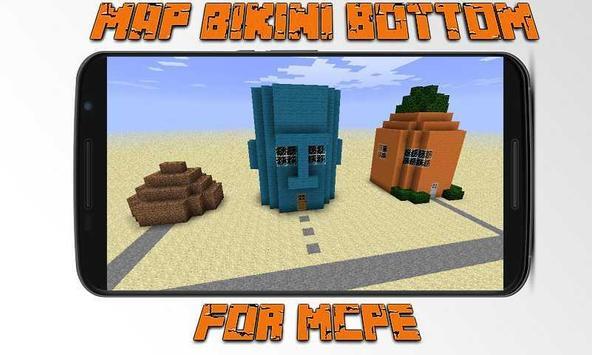 Map Bikini Bottom for MCPE apk screenshot
