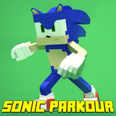 Map Sonic Parkour Run for MCPE icon