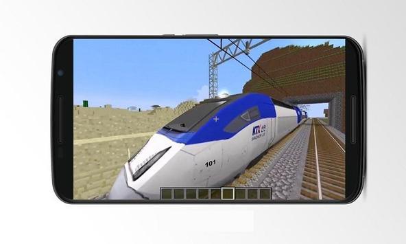 Mod Train for MCPE apk screenshot