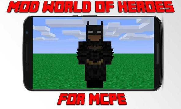 Mod World of Super Heroes for MCPE apk screenshot