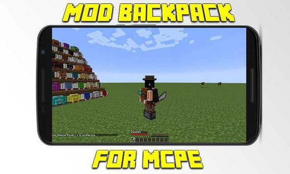 Mod Backpack for MCPE poster