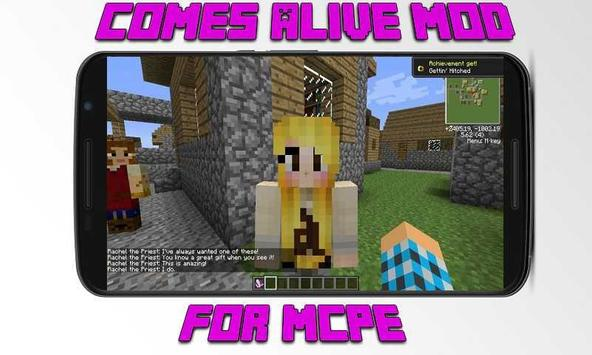 Mod Comes Alive for MCPE screenshot 1