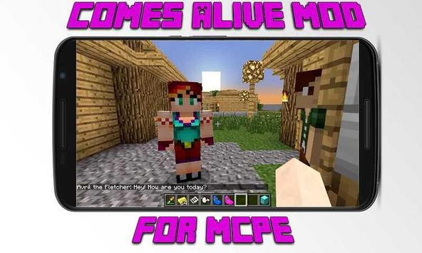 Mod Comes Alive for MCPE screenshot 2