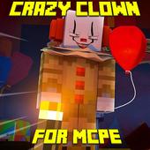 Mod Crazy Clown for MCPE icon