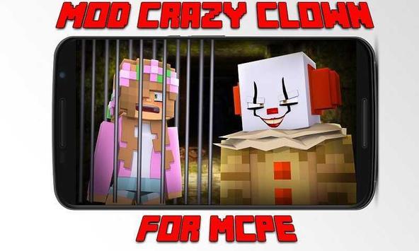 Mod Crazy Clown for MCPE apk screenshot