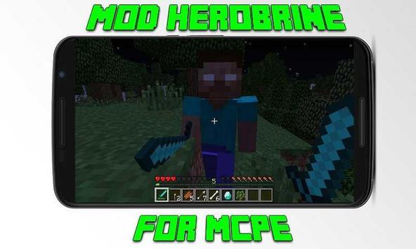 Mod Herobrine for MCPE apk screenshot