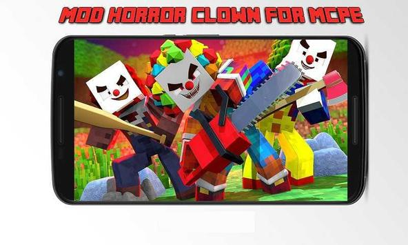Mod Horror Clown for MCPE poster