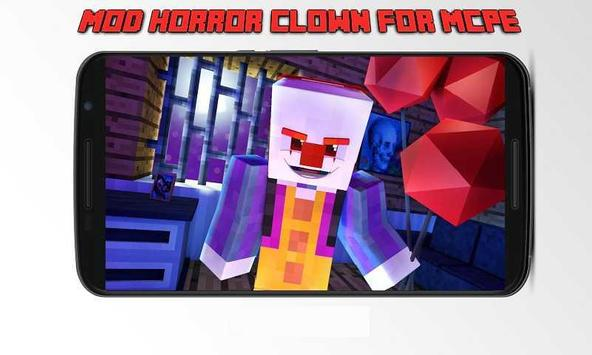Mod Horror Clown for MCPE apk screenshot