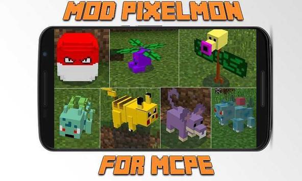 Mod Pixelmon for MCPE poster